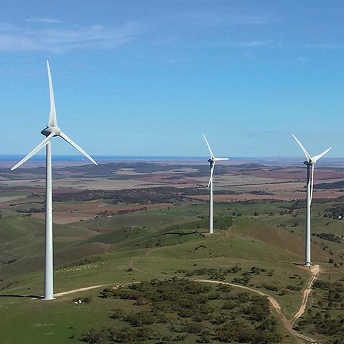 Mount Miller Wind Farm.
